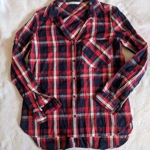 Zara Trafaluc Plaid Shirt